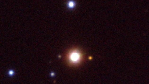 Záběr z ondřejovské hvězdárny.