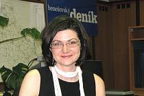 Ředitelka benešovských hotelů Benica a Atlas Renata Forejtová Auersvaldová.