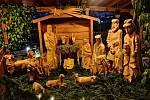 Adventní neděle ve Stone parku v Benešově.