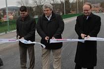 Most přes Sázavu v Čerčanech je zprovozněný.