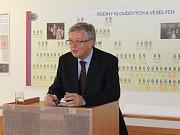 Přednáška v oblastním archivu v Benešově byla věnována známému archiváři Jiřímu Tywoniaku, který žil v letech 1919 až 1995.