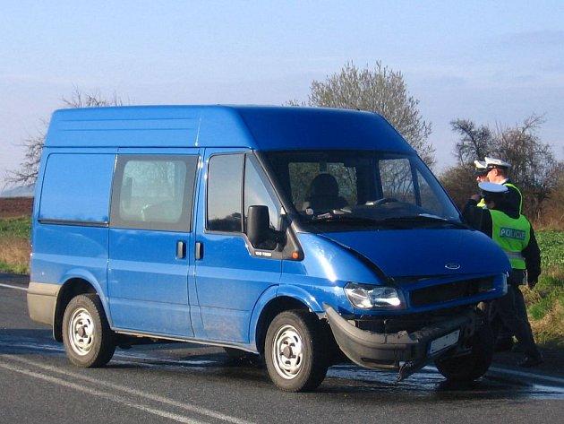 Dopravní nehoda U Topolu