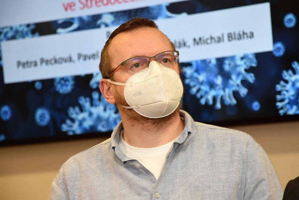 Vedoucí projektu očkovacích center Michal Bláha.