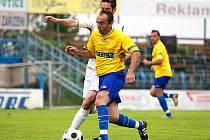 Fotbalový zápas divize Benešov - Malše Roudné 2:2.