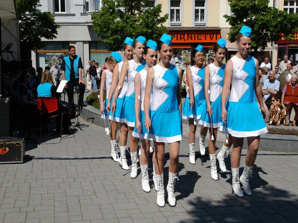 Festival dechovky v Benešově.