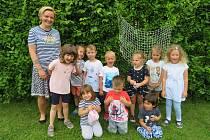 Námořnicky den dětí z Mateřské školy MiniSvět Mrač.