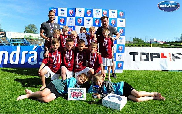 Sparta Praha se stala vítězem Ondrášovka cupu kategorie U9 v Benešově.
