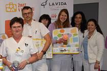 Nemocnice Rudolfa a Stefanie v Benešově se přidala k projektu Život v kufříku.