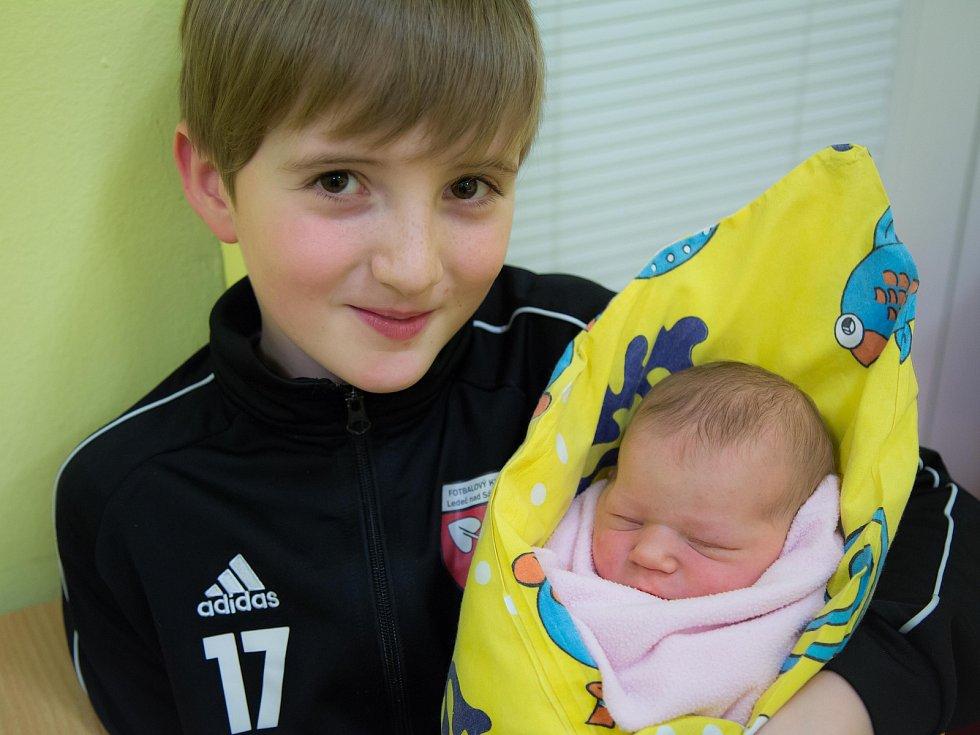 Barborka Casková se Martině Caskové narodila 19.ledna 2020 v 15.29 hodin, vážila 2990 gramů. Doma v Dobré Vodě na ni čekali sestry Adélka (18), Anežka (15) a brácha František (9).