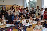 Zahájení školního roku v ZŠ Dukelská Benešov.