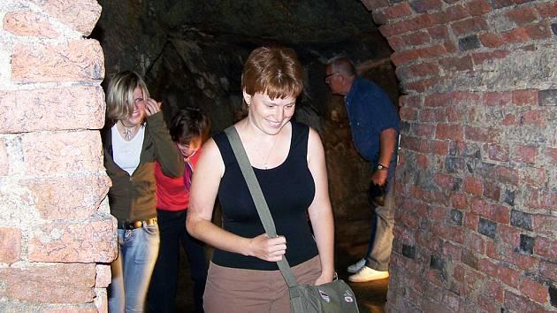 Návštěvníci rádi zavítají i do nově zpřístupněných podzemních prostor vlašimského zámku