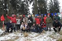 Expedice Chlumapurna 2015 na vrcholu.