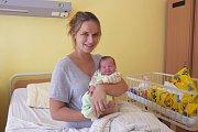 Malá Lucie Provazníková se narodila 27. srpna v 11.55 s váhou 3 860 gramů a mírou 51 centimetrů. Její rodiče, Jana Dejčmarová a Jan Provazník, žijí v Jírovicích, kde na Lucinku čeká sestřička Šárka (3).