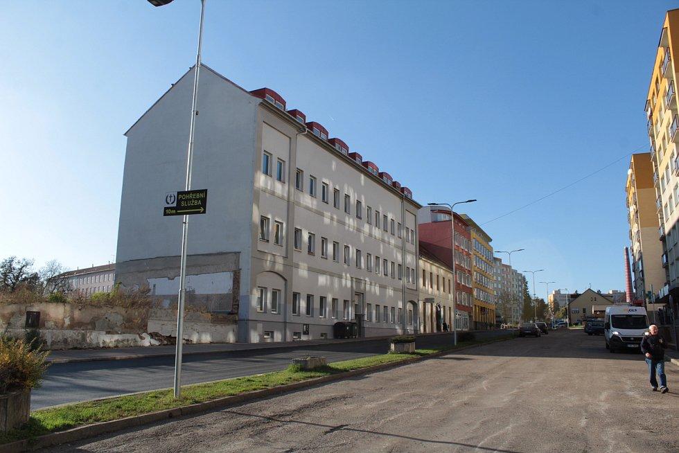 Dům se sociálními byty v Žižkově ulici.
