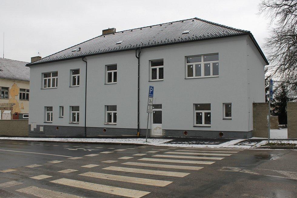 Rekonstrukce objektu bývalého štábu v Táborských kasárnách.