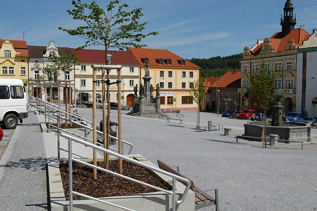 Votické náměstí.