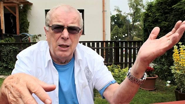 Helmut Gaensel při rozhovoru pro Deník.