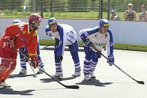 Semifinále extraligy hokejbalu Vlašim - Hradec Králové