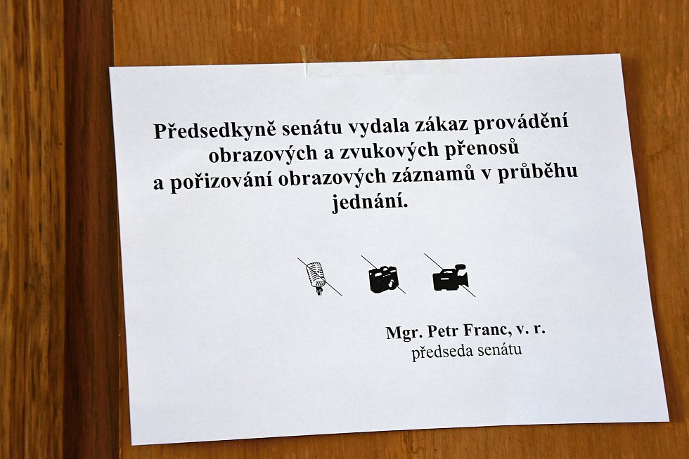 Z vraždy se před Krajským soudem v Praze zpovídal Karel L. z Nové Vsi na Praze-východ.