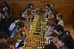Ze šachového mistrovství Čech mládeže do 16 let v hotelu Kořínek v Příchovicích u Kořenova.