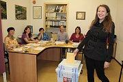 Druhé kolo senátních voleb ve 41 senátním obvodu obvodu v Chlístově.