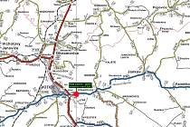 Silnice Votice - Otradovice je neprůjezdná do konce června.