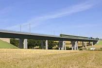 Vizualizace koridoru mezi Voticemi a Sudoměřicemi, který se začne stavět v létě 2016.