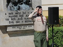 Pietní akci u příležitosti Dne osvobození uspořádali v Benešově.