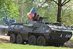 Vojenské muzeum v Lešanech slavnostně otevřelo novou sezónu.
