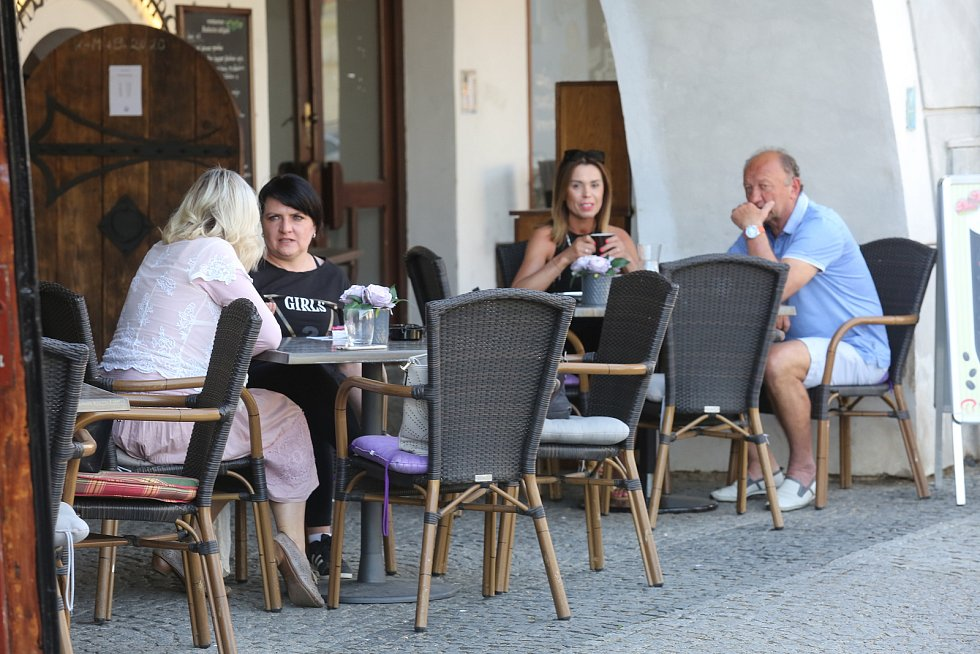 Zahrádky hospod a restaurací (ilustrační foto).