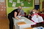 Volby do krajského zastupitelstva v Benešově.