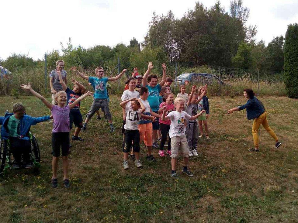 Nejmenší si užili plno zábavy s klubem La Mamka.