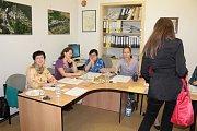 Druhé kolo senátních voleb ve 41 senátním obvodu v Chlístově.