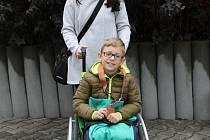 Mirek Piskač s maminkou přišli do Benešovského deníku podělit se o nové zážitky