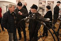 Berounské muzeum otevřelo výstavu, která je věnována vývoji a historii kol.