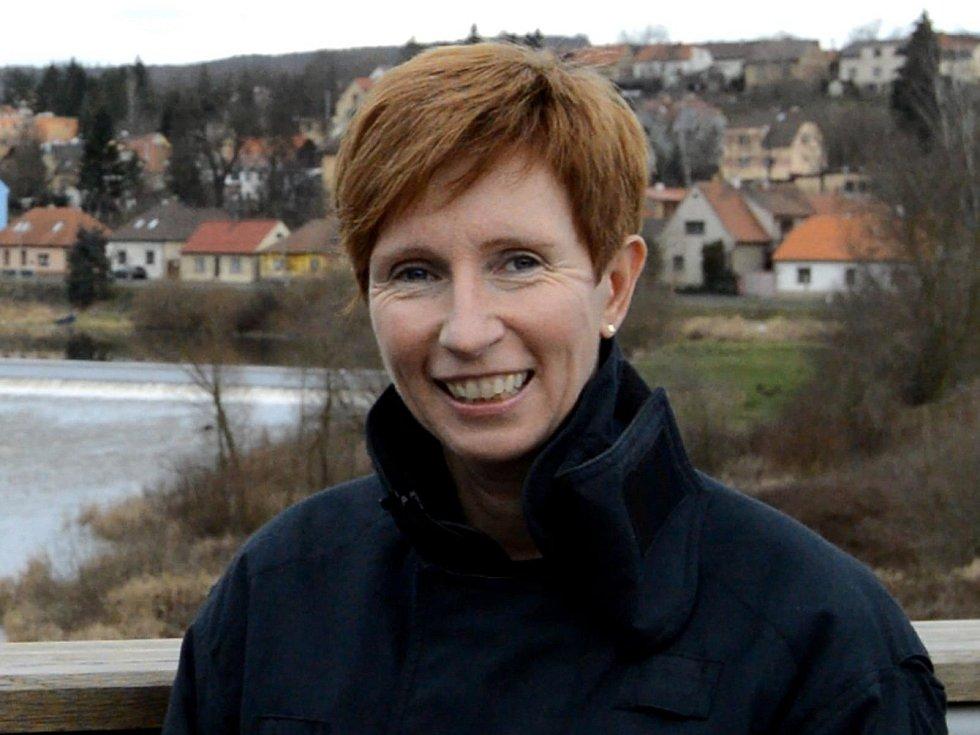 Psycholožka Hasičského záchranného sboru Středočeského kraje Eva Biedermannová.