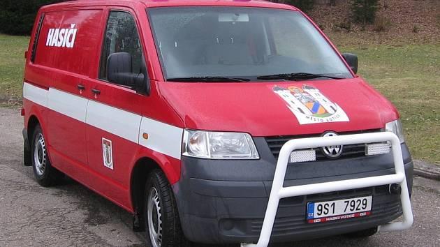 VW Transportér, začnou v příštím roce používat i hasiči HZS Benešov.