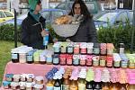 Vánoční trh v Neveklově.