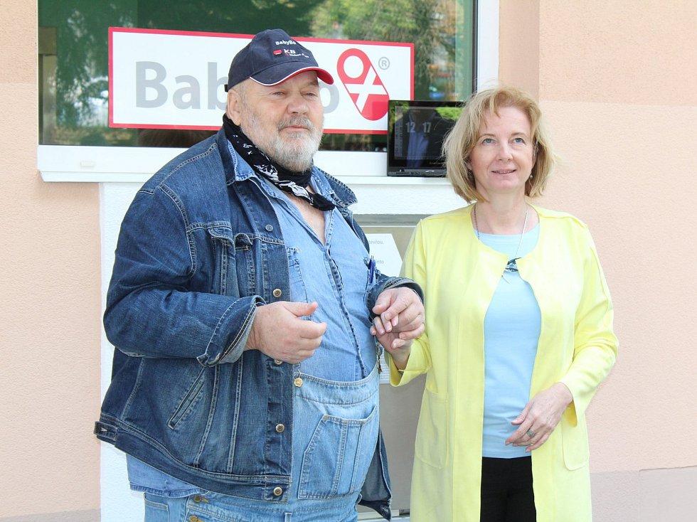Slavnostní uvedení babyboxu nové generace do provozu v Nemocnici Rudolfa a Stefanie v Benešově.