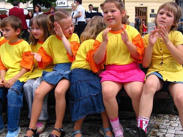 Děti z MŠ Táborská