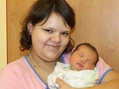 Při tisícím porodu v benešovské porodnici se narodila malá Viktorie Kolářová z Vlašimi.