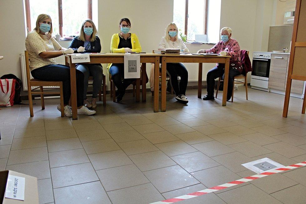 Volby do krajského zastupitelstva v Peceradech.