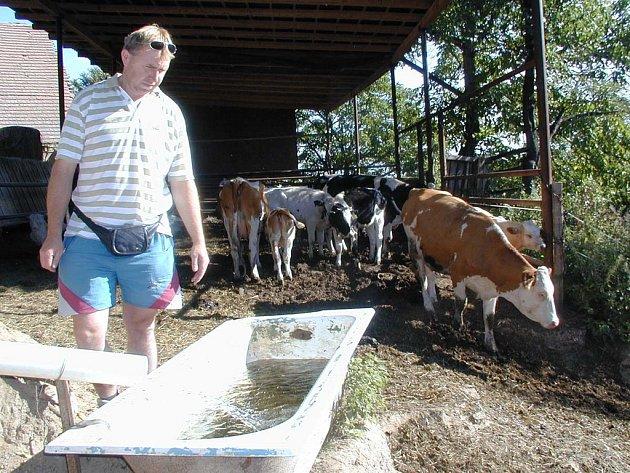 Sucho trápí rolníky i chovatele.