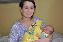 Malý Honzík se Michaele Postupové narodil v Benešově 24. prosince 2017 v 19.04.