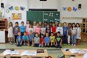 ZŠ a MŠ Na Karlově Benešov 1. B třídní učitelka Marie Šůsová