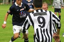 Ilustrační foto z přípravného zápasu Vlašim B - Votice.