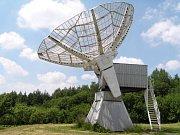 Hvězdárna Ondřejov: sluneční radioteleskop o průměru 10 metrů.