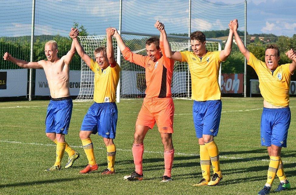 1. kolo MOL Cupu, Malše Roudné - Benešov 0:5.