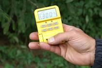Měření radiace u Žabovřesk.
