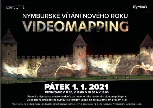 Poprvé v historii vystřídá tradiční ohňostroj moderní videomapping. Ve čtyřech různých časech si mohou lidé užít velkoplošnou videoprojekci na plochu nymburské dominanty – hradeb.